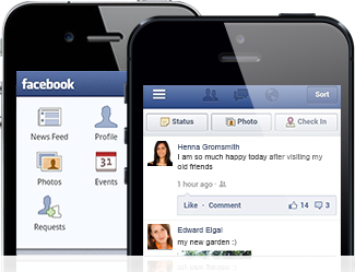 track facebook messages on android